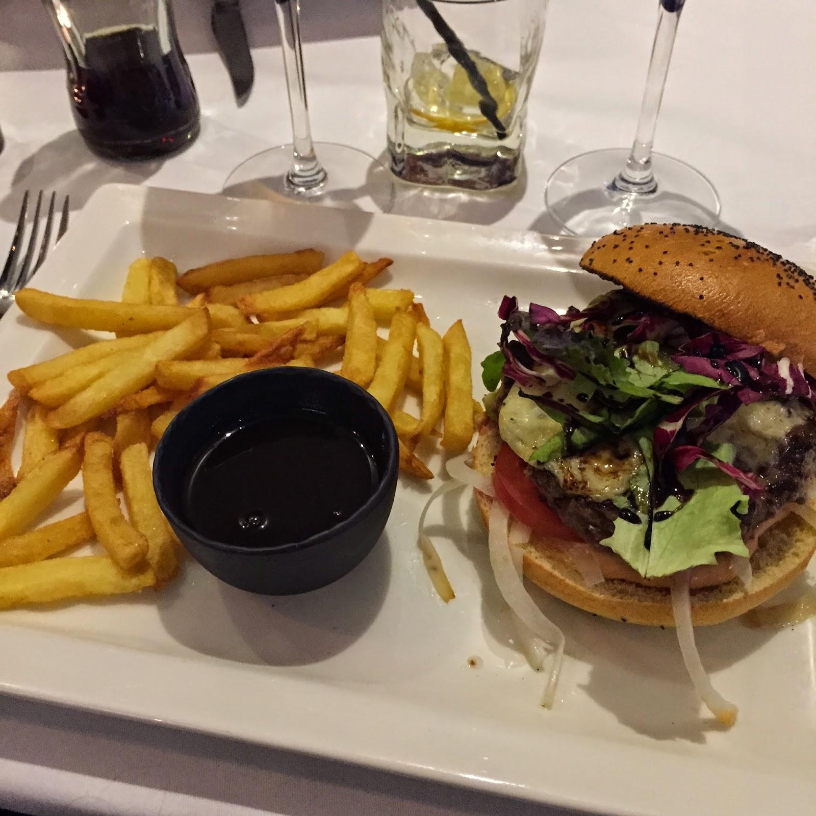 Monsieur A - Burger du chef