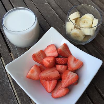 Ingrédients smoothie douceur