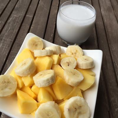 Ingrédients smoothie Bora Bora